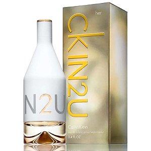 CKIN2U Her Calvin Klein Eau de Toilette 100ml - Perfume Feminino