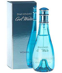 Cool Water Woman Davidoff Eau de Toilette 100ml - Perfume Feminino