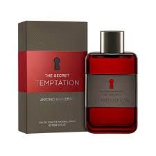 The Secret Temptation Eau de Toilette Antonio Banderas 50ml - Perfume Masculino