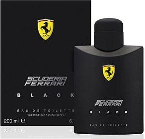 Scuderia Ferrari Black Eau de Toilette Ferrari 200ml - Perfume Masculino