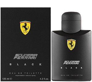 Scuderia Ferrari Black Eau de Toilette Ferrari 125ml - Perfume Masculino