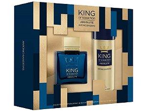 Kit King of Seduction Absolute Antonio Banderas Eau de Toilette 100ml + Desodorante 150ml