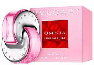 Omnia Pink Sapphire Eau de Toilette Bvlgari 65ml - Perfume Feminino