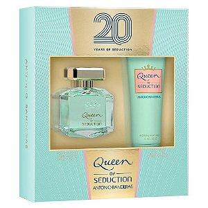 Kit Queen of Seduction Antonio Banderas Eau de Toilette 80ml + Hidratante 75ml - Feminino