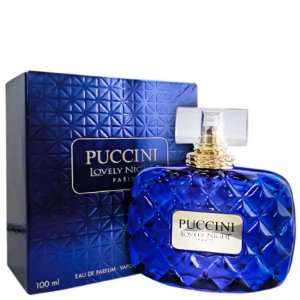 Puccini Lovely Night Blue Eau de Parfum 100ml - Perfume Feminino