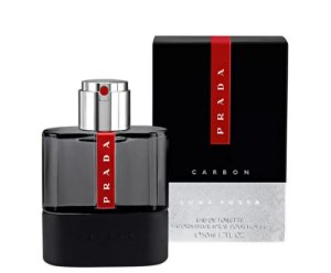 Luna Rossa Carbon Eau de Toilette Prada 50ml - Perfume Masculino