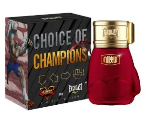 Choice Of Champions Street Fighter Hadouken Everlast Deo Colônia 100ml - Perfume Masculino