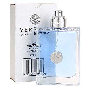 Tester Versace Pour Homme Eau de Toilette Versace 100ml - Perfume Masculino