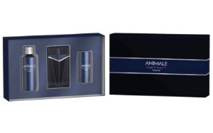 Kit Animale Instinct Eau de Toilette 100ml + Body Spray 120ml + Deodorant 72g