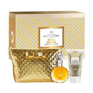 Kit Marina de Bourbon Royal Diamond Eau de Parfum 100ml + Loção Corporal 150ml + Necessaire