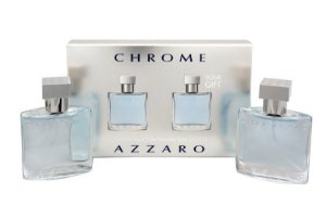 Kit Azzaro Chrome Eau de Toilette 2 x 30ml - Masculino