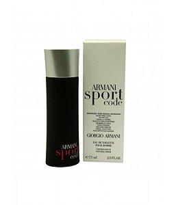 Tester Armani code sport Giorgio Armani EDT 75ml - Perfume Masculino