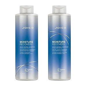 Kit Joico Moisture Recovery Shampoo 1Lt + Condicionador 1Lt