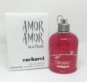 Tester Amor Amor In a Flash Cacharel Eau de Toilette 100ml - Perfume Feminino