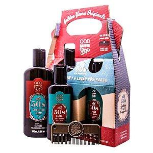 Kit Barber Shop Old 50's - Shampoo 3 Em 1 240ml + Loção Pós-Barba120ml
