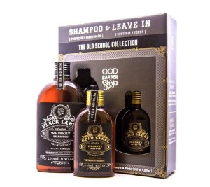 Kit QOD Barber Shop Whiskey  - Shampoo 290ml + Leave-in 145ml