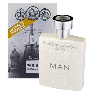 Vodka Man Eau de Toilette Paris Elysees 100ml - Perfume Masculino