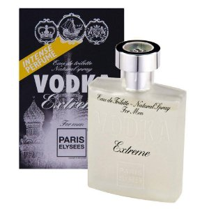 Vodka Extreme Eau de Toilette Paris Elysees 100ml - Perfume Masculino