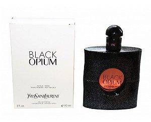 Tester Black Opium Yves Saint Laurent Eau de Toilette 90ml - Perfume Feminino