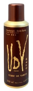 Desodorante Body Spray UDV Star Ulrich de Varens Masculino - 200ml