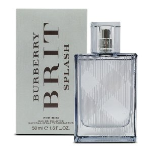 Brit Splash Eau de Toilette Burberry 50ml - Perfume Masculino