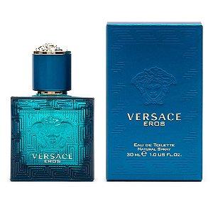 Versace Eros Eau de Toilette Versace 30ml - Perfume Masculino