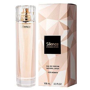 Silence Eau de Parfum New Brand 100ml - Perfume Feminino