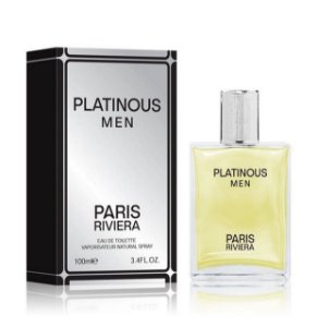 Platinous Paris Riviera Eau de Toilette 100ml - Perfume Masculino