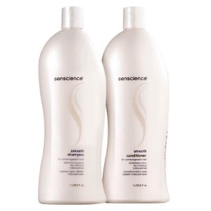 Kit Senscience Smooth - Condicionador 1000ml + Shampoo 1000ml