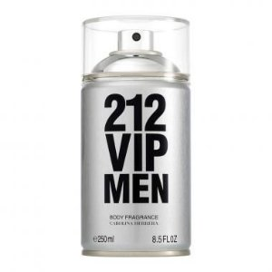 Body Spray 212 VIP Men Carolina Herrera 250ml - Masculino