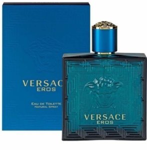 Versace Eros Eau de Toilette Versace 200ml - Perfume Masculino