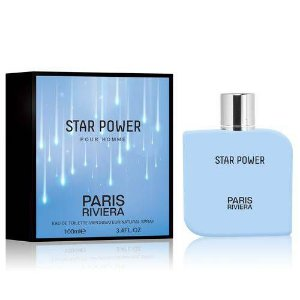 Star Power Pour Homme Paris Riviera Eau de Toilette 100ml - Perfume Masculino