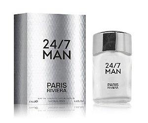 24/7 Man Paris Riviera Eau de Toilette 100ml - Perfume Masculino