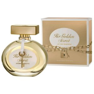 Her Golden Secret Eau de Toilette Antonio Banderas 30ml - Perfume Feminino