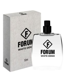 Deo Colônia White Denim Forum 50ml - Perfume Unissex