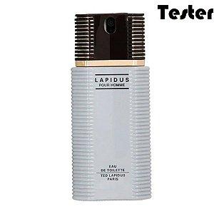 Tester Lapidus Eau de Toilette Ted Lapidus 100ml - Perfume Masculino