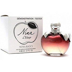 Tester Nina L'Elixir Eau de Parfum Nina Ricci 80ml - Perfume Feminino