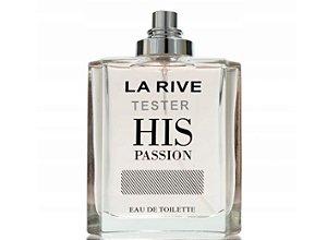 Tester His Passion Eau de Toilette La Rive 100ml - Perfume Masculino