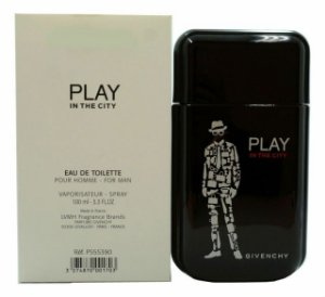 Tester Play in The City Eau de Toilette Givenchy 100ml - Perfume Masculino