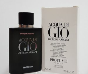 Tester Acqua di Gio Profumo Eau de Parfum Giorgio Armani 75ml- Perfume Masculino