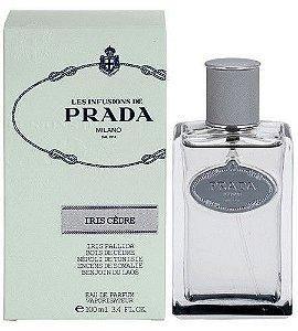Tester Infusion D'iris Cèdre Eau de Parfum Prada 100ml - Perfume Unissex