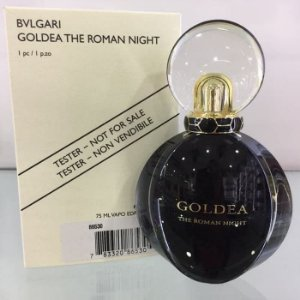 Tester Bvlgari Goldea The Roman Night Eau de Parfum Sensuelle 75ml - Perfume Feminino