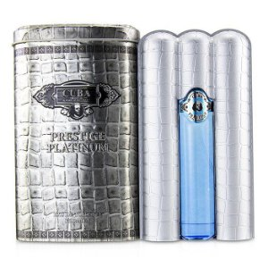 Cuba Prestige Platinum For Men Eau de Toilette 90ml - Perfume Masculino