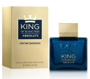 King of Seduction Absolute EDT Antonio Banderas 100ml - Perfume Masculino