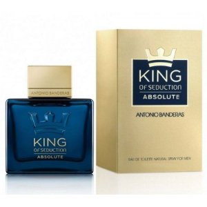 King of Seduction Absolute EDT Antonio Banderas 50ml - Perfume Masculino