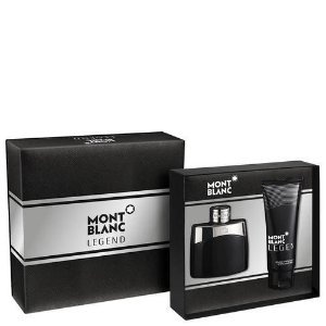Kit Legend Montblanc Eau de Toilette  50ml + Loção Pós Barba 100ml -  Masculino