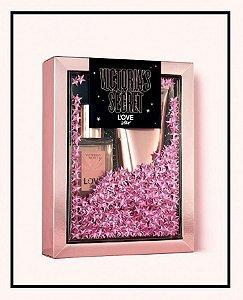 Kit Victoria's Secret Love Star Fragrância Mista 75 ml + Loção Perfumada 100 ml - Feminino