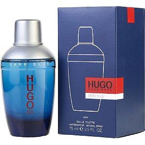 Perfume Dark Blue Eau De Toilette 75ml Hugo Boss - Masculino