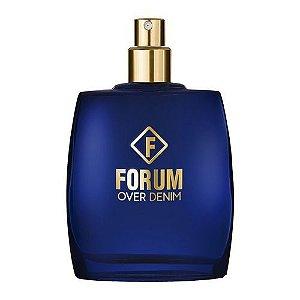 Tester Forum Over Denim Deo Colônia 50ml - Perfume Unissex