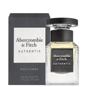 Authentic Eau de Toilette Abercrombie & Fitch 30ml - Perfume Masculino
